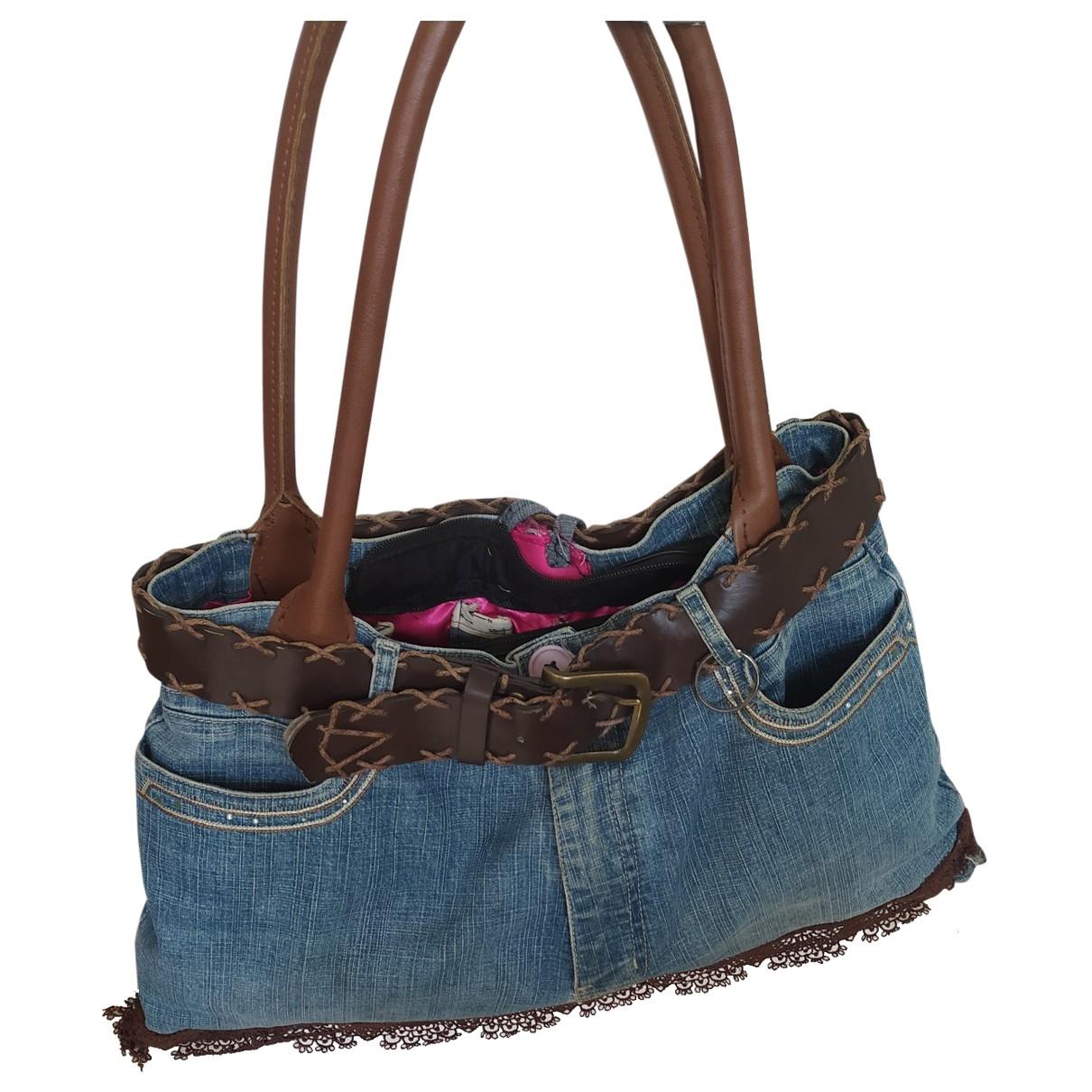 A Détacher \N Blue Cotton Purses, wallet & cases for Women \N
