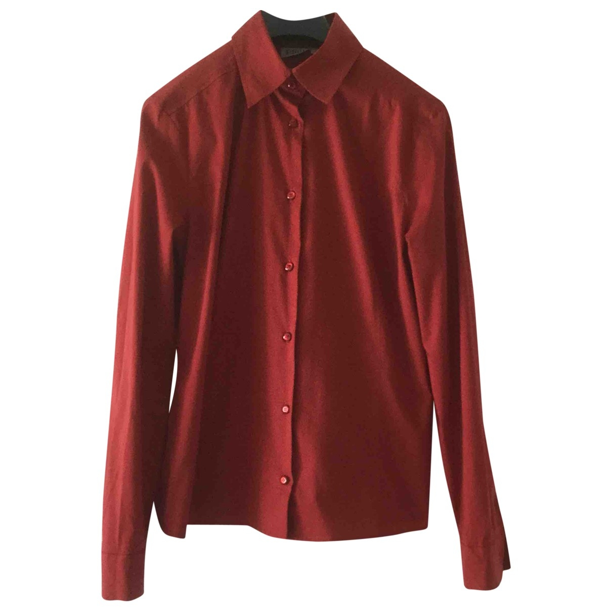 Marella - Top   pour femme en coton - rouge