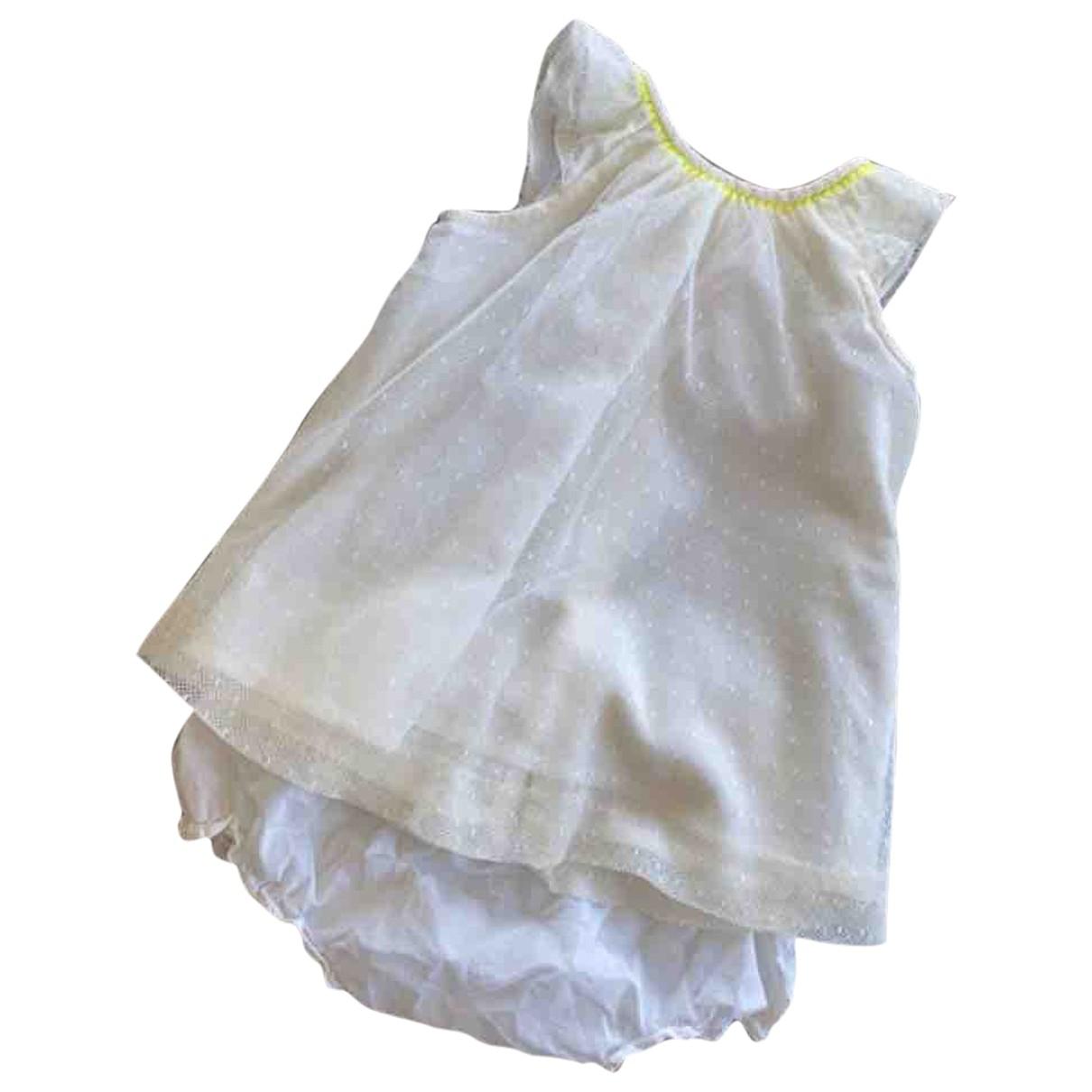Bonpoint - Les ensembles   pour enfant en coton - ecru