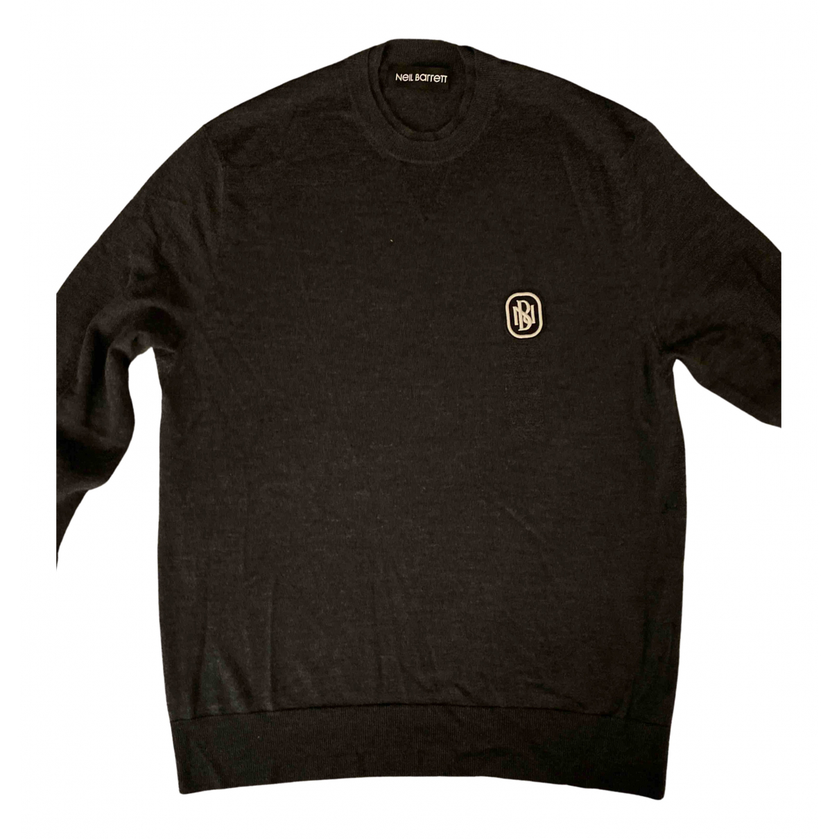 Neil Barrett \N Pullover.Westen.Sweatshirts  in  Grau Wolle