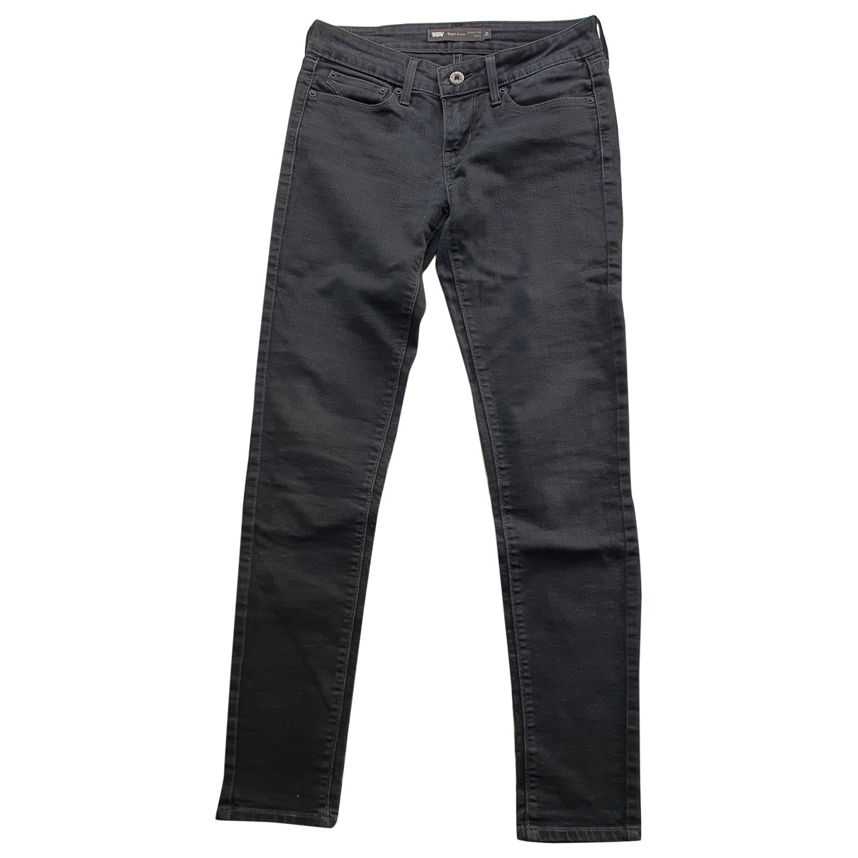 Levi's \N Black Cotton - elasthane Jeans for Women 25 US