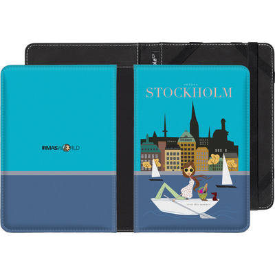 tolino shine eBook Reader Huelle - STOCKHOLM TRAVEL POSTER von IRMA