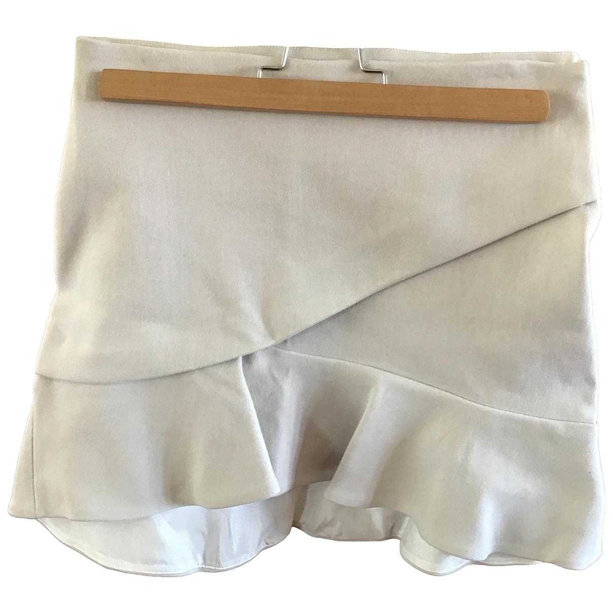 Iro - Jupe   pour femme en coton - beige