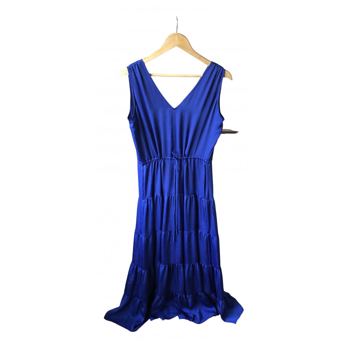 Dkny \N Kleid in  Blau Polyester