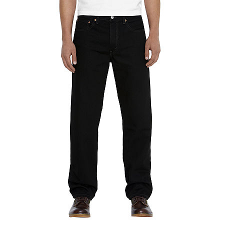 Levi's Men's 550 Relaxed Fit Jeans, 42 34, Black