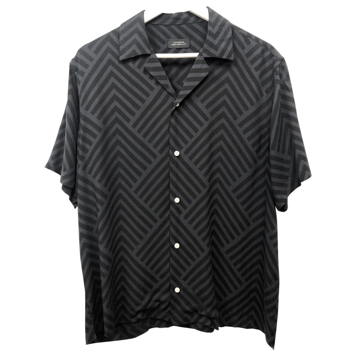 Saturdays \N Hemden in  Grau Viskose