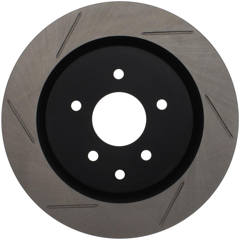 StopTech 126.42079SR Sport Slotted Brake Rotor; Rear Right Rear Right