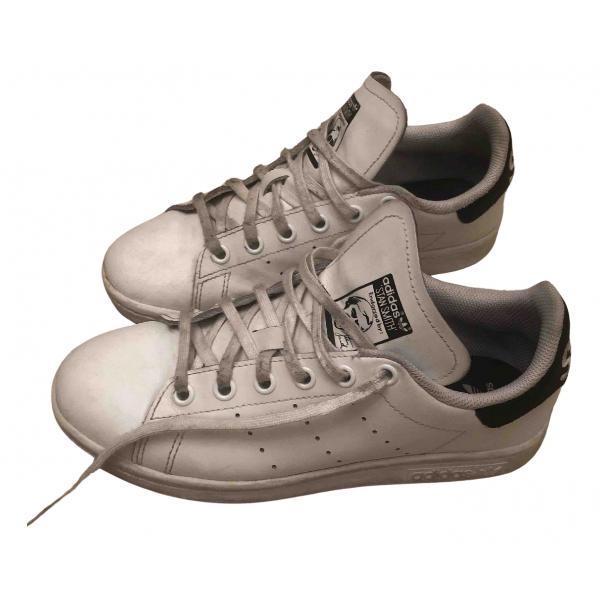 Adidas Stan Smith White Leather Trainers for Women 36 EU
