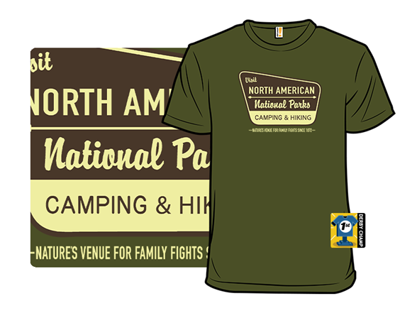 Nature's Venue For Family Fights T Shirt