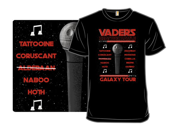 Vader's Beat Box Tour T Shirt