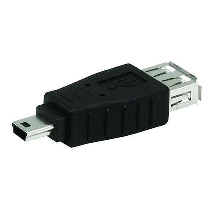 USB A Female to Mini 5 pin (B5) Male Adapter - Monoprice®