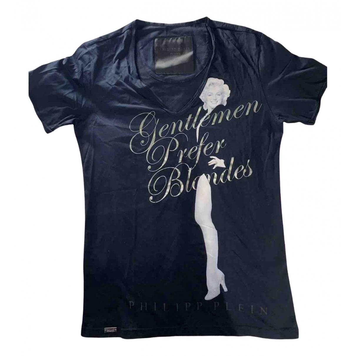 Philipp Plein - Tee shirts   pour homme en coton - noir