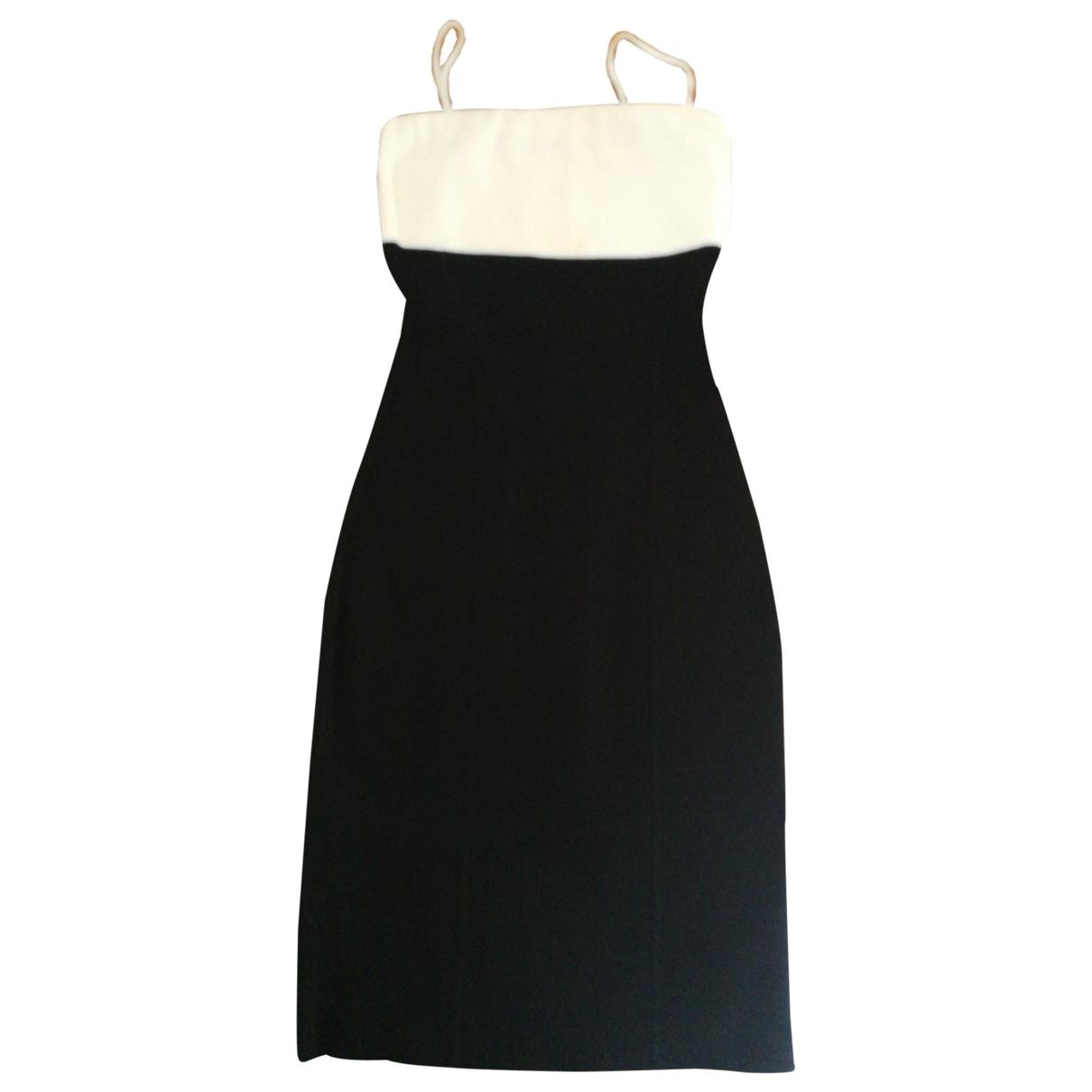 Ralph Lauren Collection \N Kleid in  Schwarz Viskose