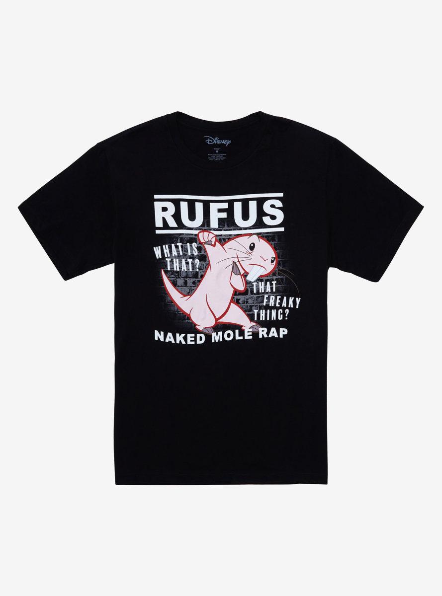 Disney Kim Possible Rufus Naked Mole Rap T-Shirt