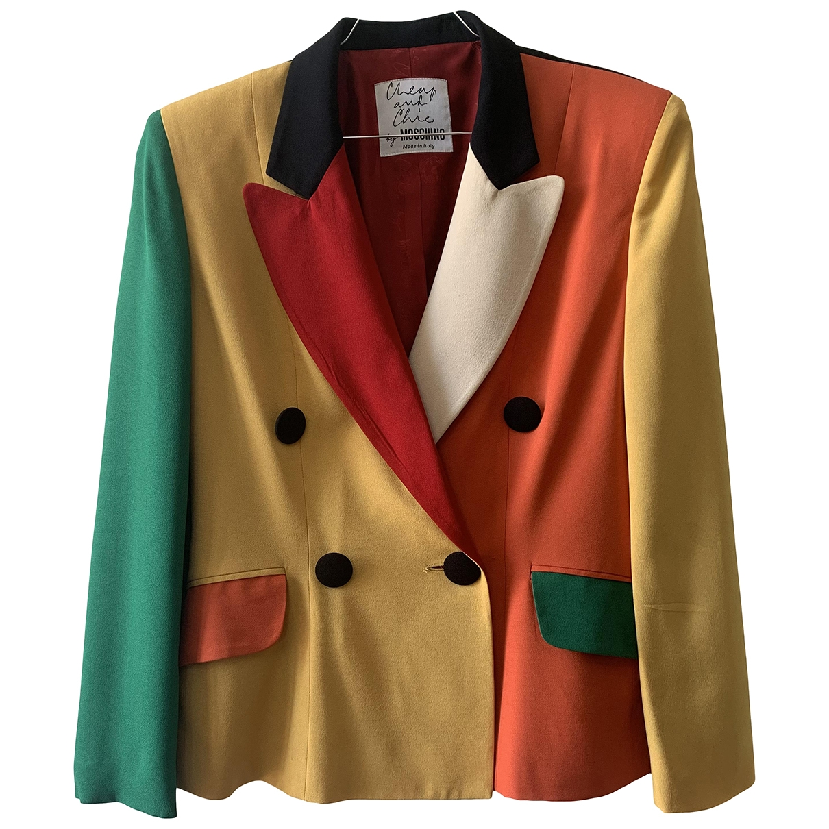 Moschino Cheap And Chic \N Multicolour jacket for Women 44 IT