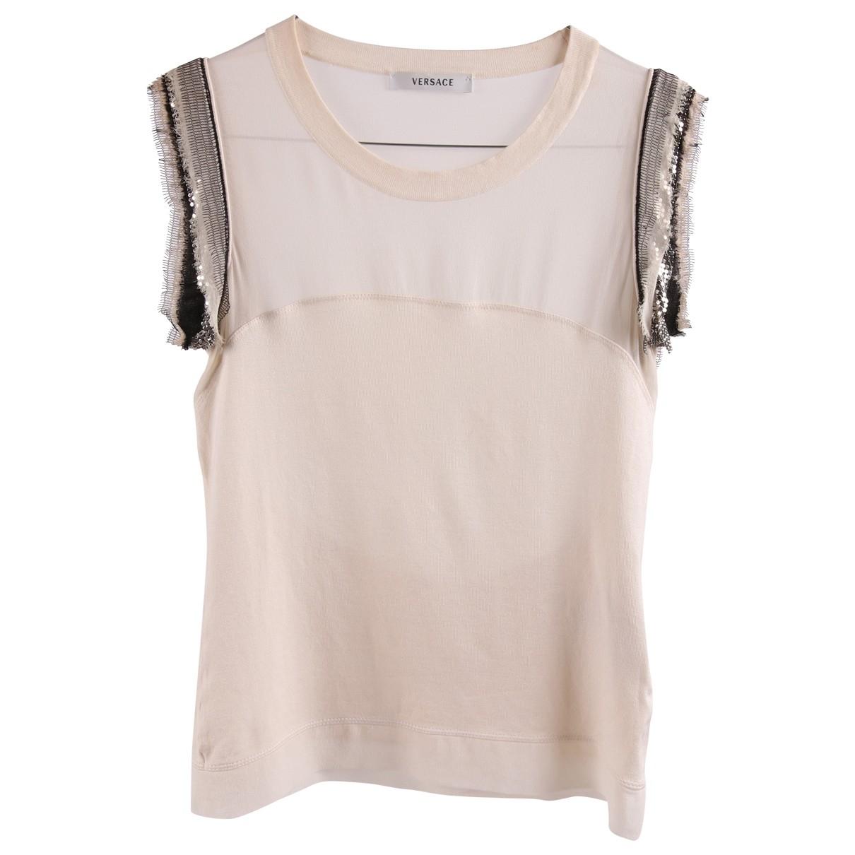 Versace \N Multicolour Silk  top for Women 38 IT
