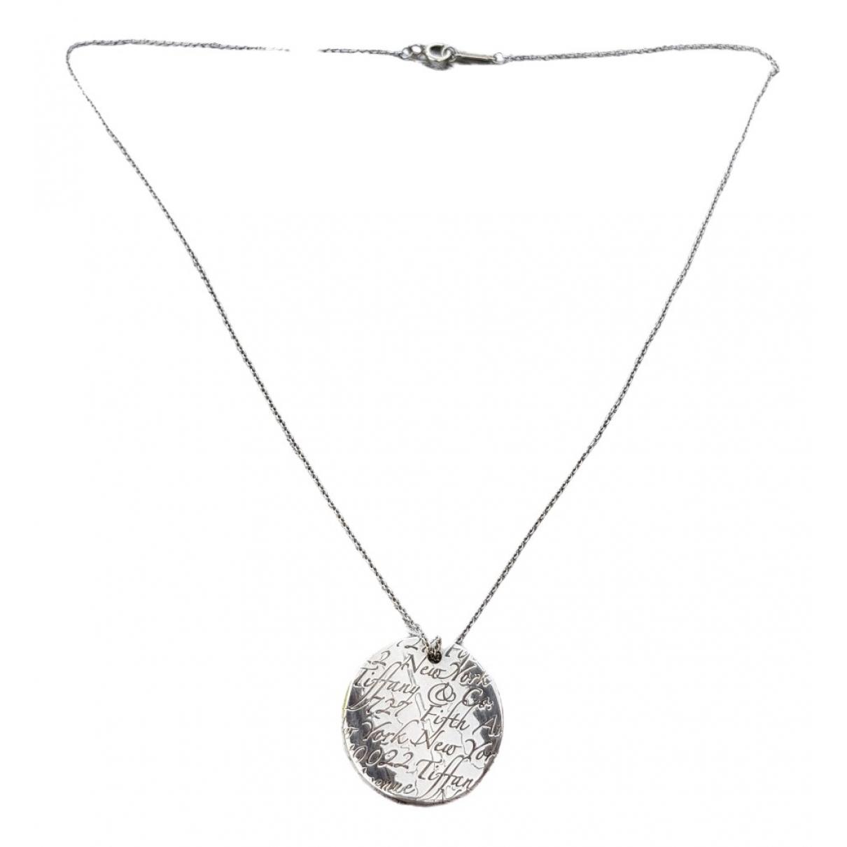 Tiffany & Co \N Anhaenger in  Silber Silber