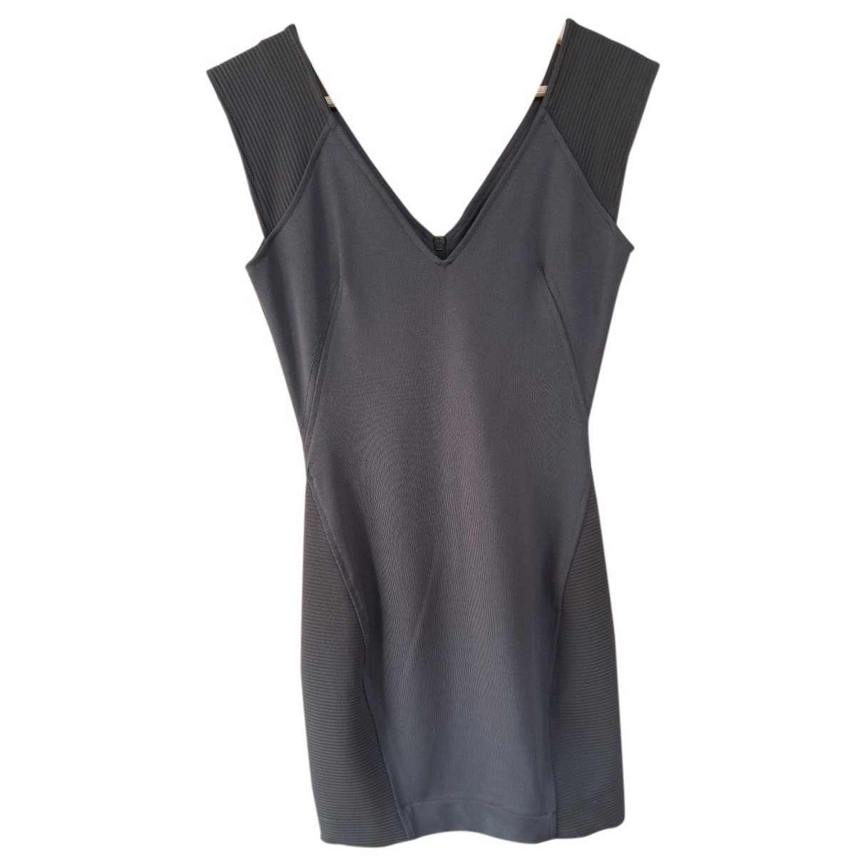 French Connection \N Kleid in  Braun Polyester