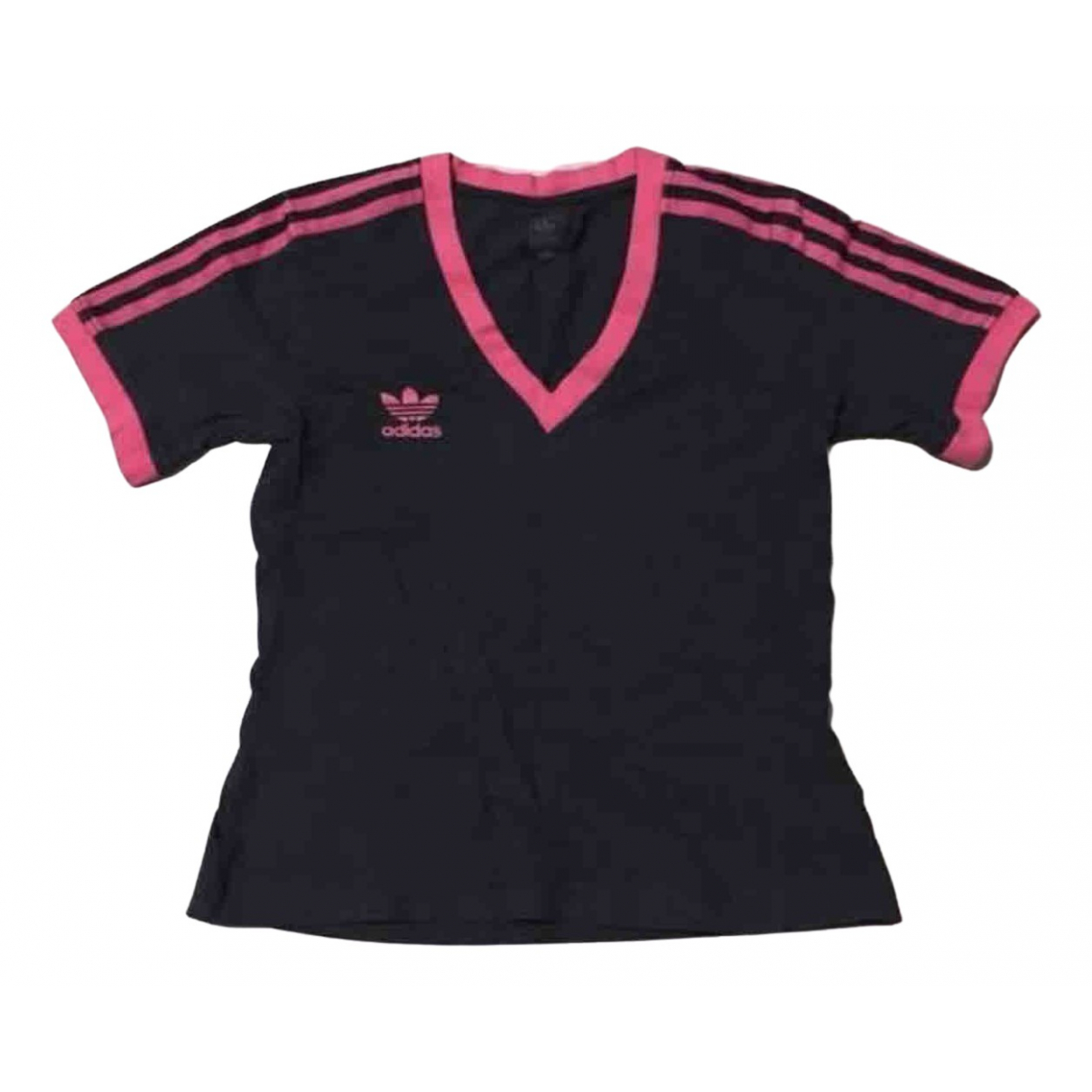 Adidas \N Black Cotton  top for Women L International
