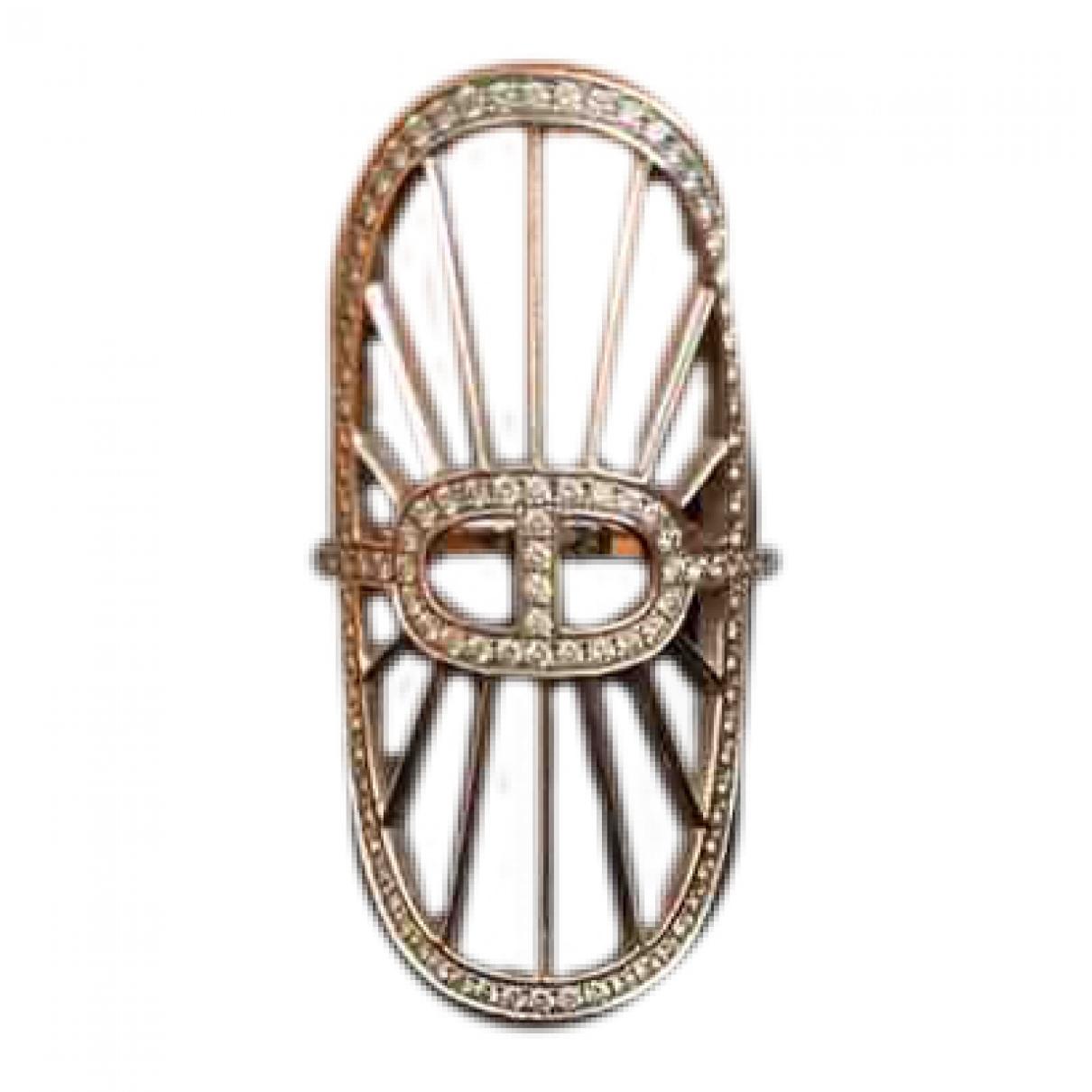 Hermes \N Ring in Weissgold