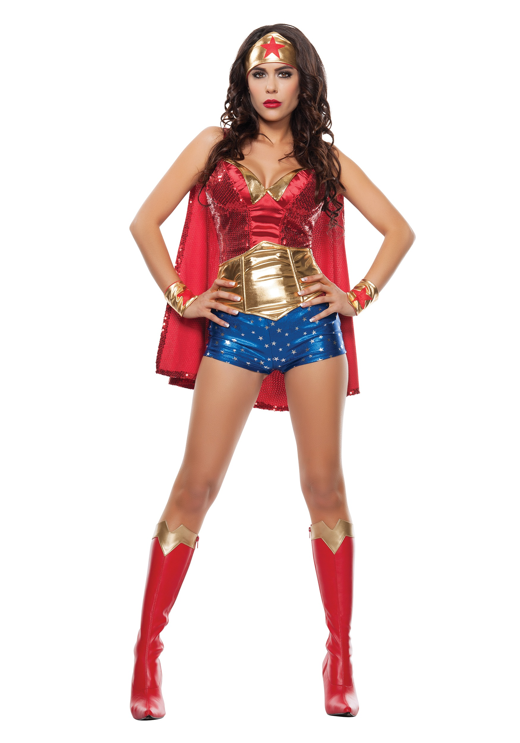 Adult Women's Wonder Lady Costume