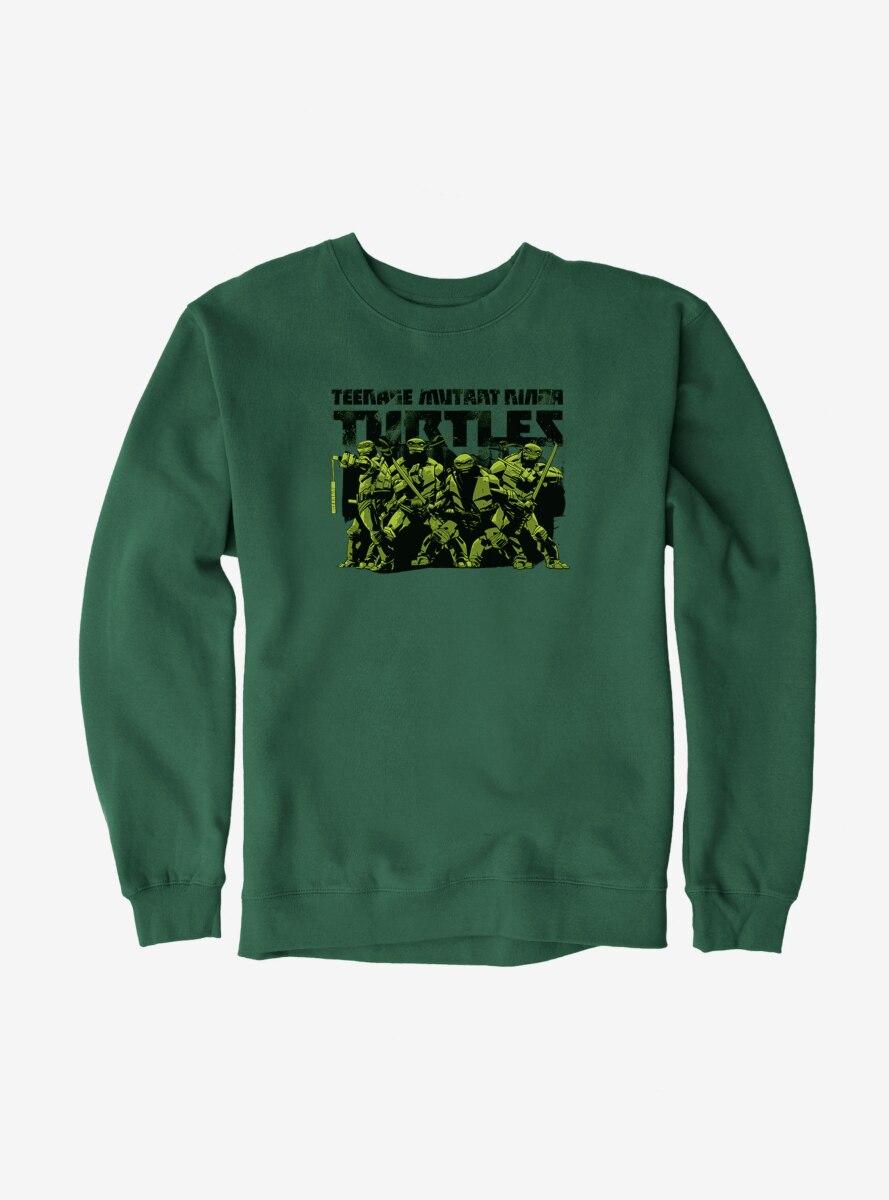 Teenage Mutant Ninja Turtles Title Group Sweatshirt