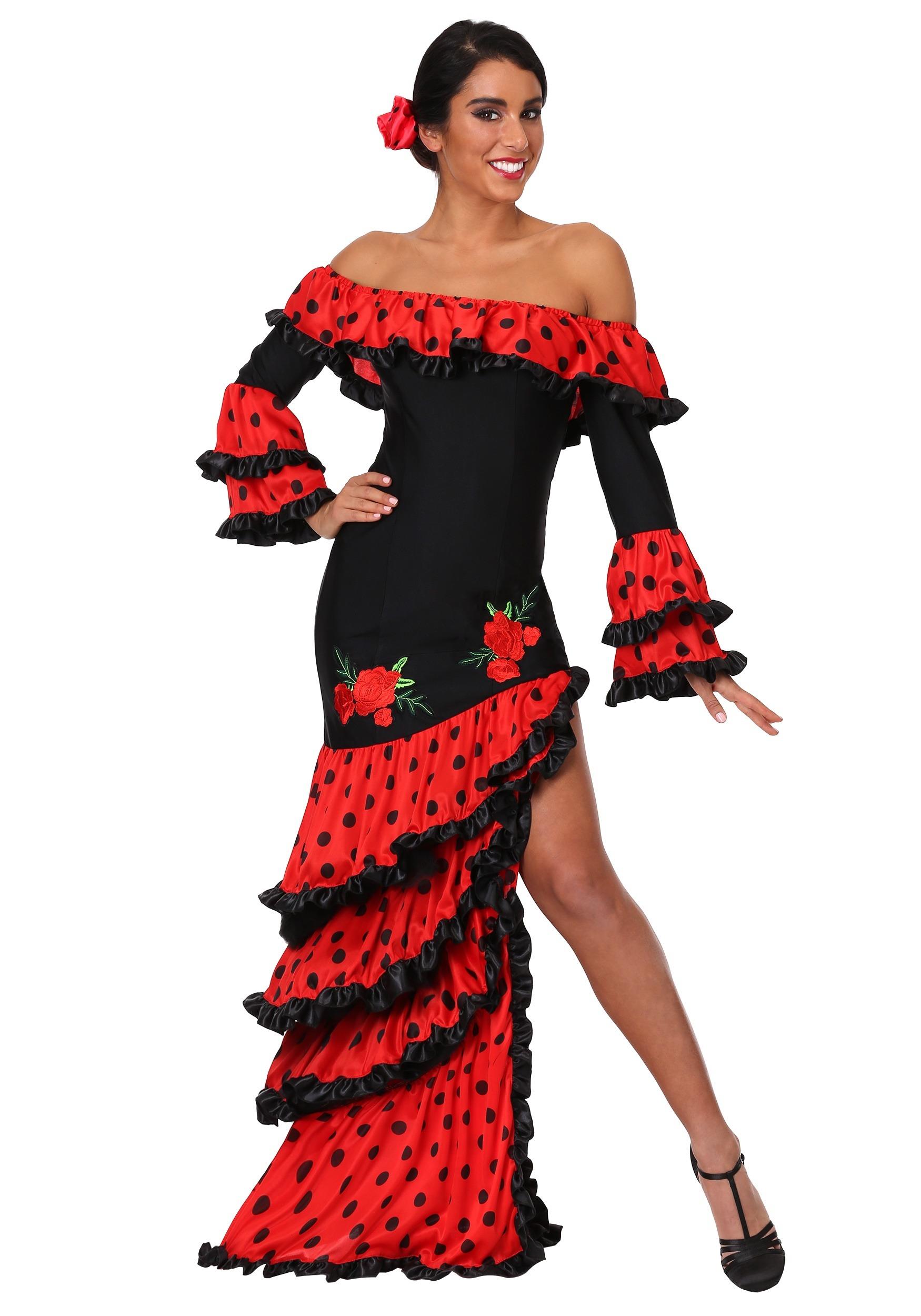 Spanish Senorita Costume for Women