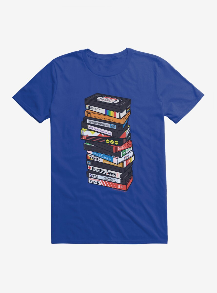 Buzzfeed VHS Tapes T-Shirt