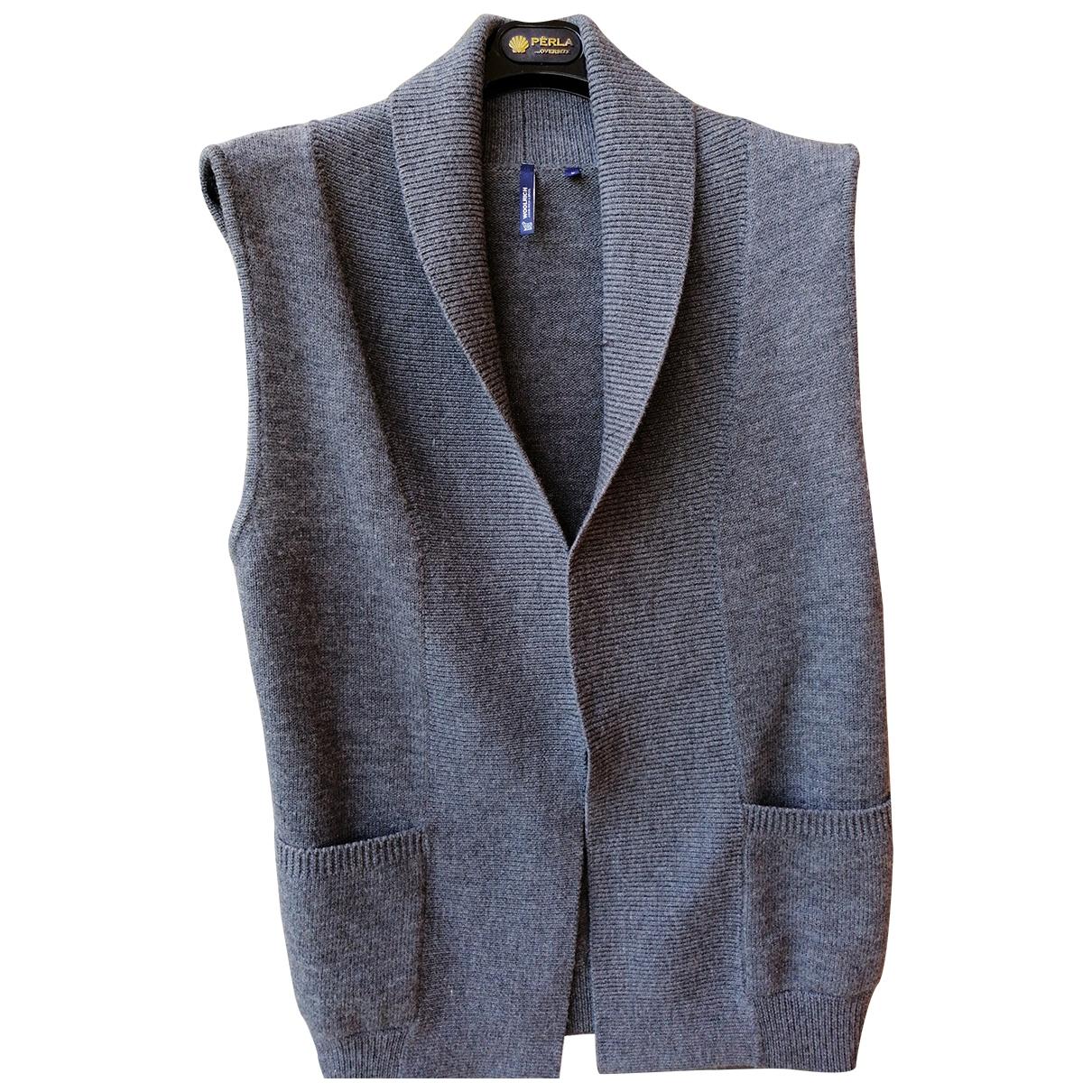 Woolrich \N Pullover in  Grau Wolle