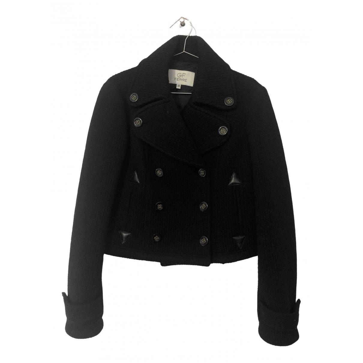 Gianfranco Ferré \N Black Wool coat for Women 42 IT