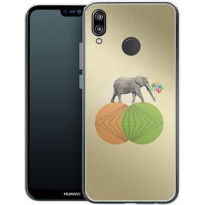 Huawei P20 Lite Silikon Handyhuelle - Balloney Fant von Mark Ashkenazi