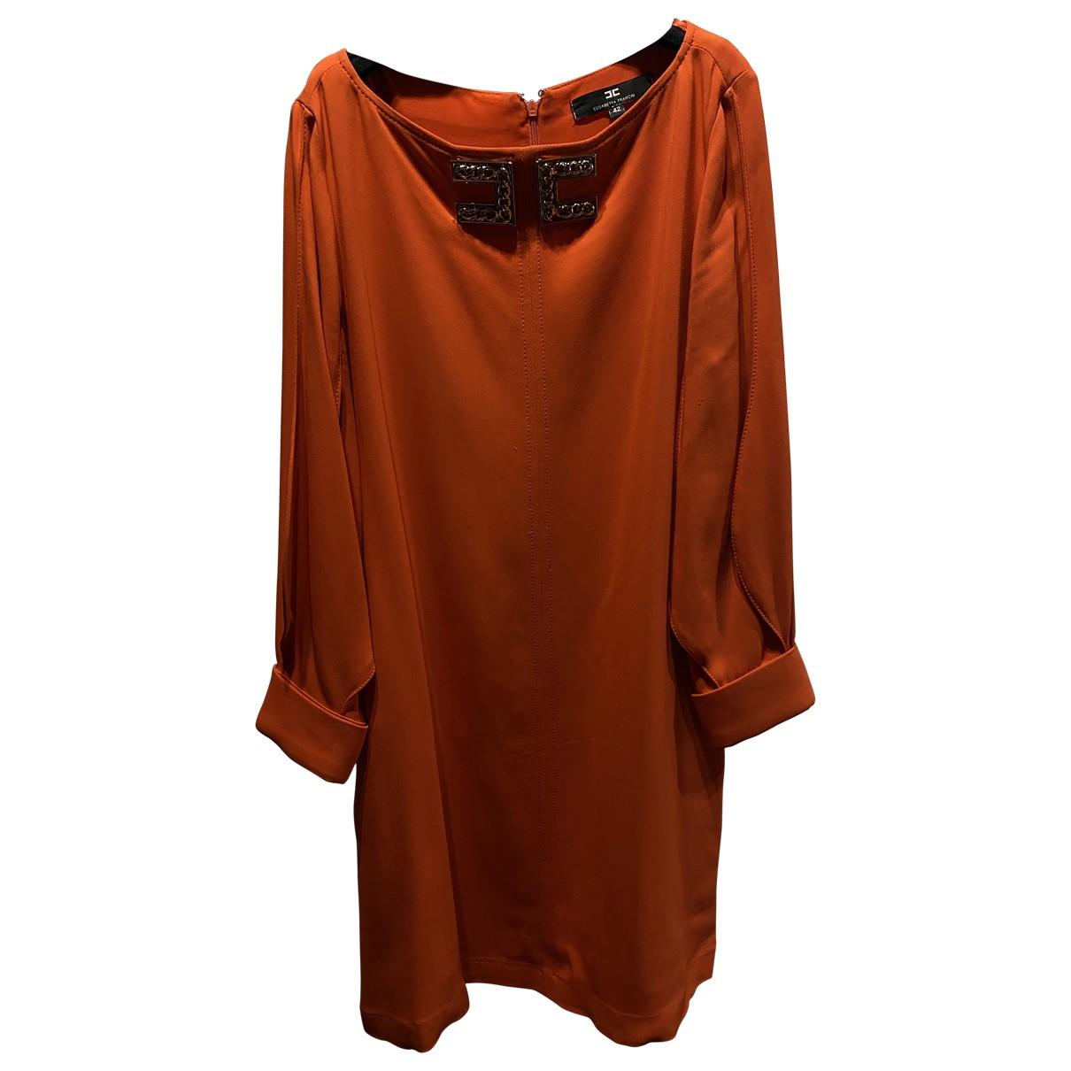 Elisabetta Franchi - Robe   pour femme - orange