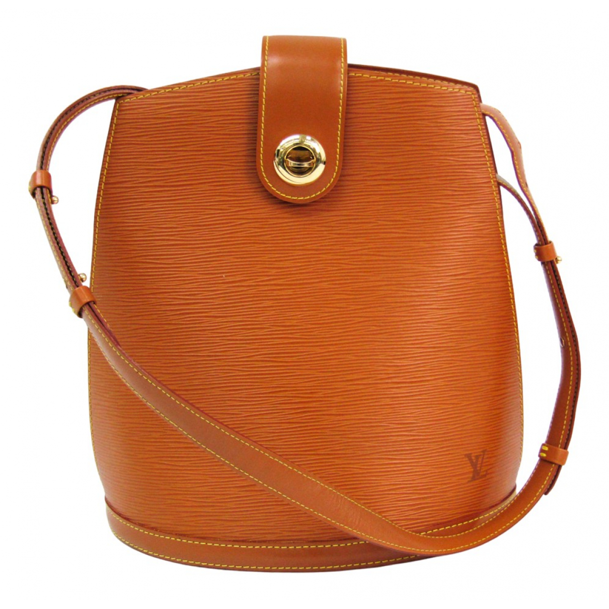 Louis Vuitton Cluny Vintage Handtasche in  Braun Leder