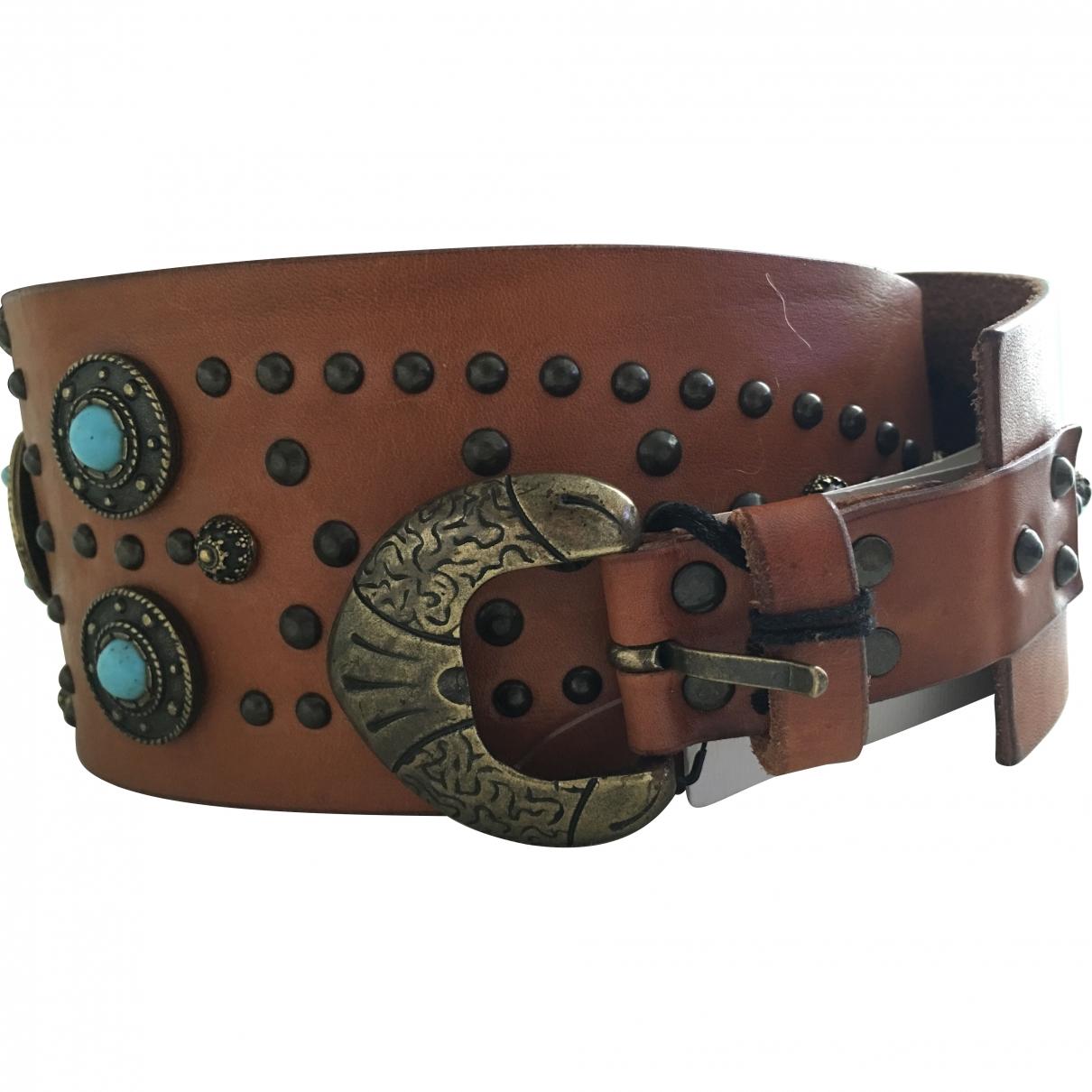 Gerard Darel \N Brown Leather belt for Women 75 cm