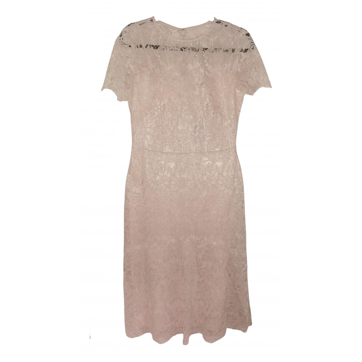 Lauren Ralph Lauren \N Kleid in  Beige Baumwolle