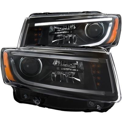 Anzo Projector Plank Style Headlights (Black) - 111329