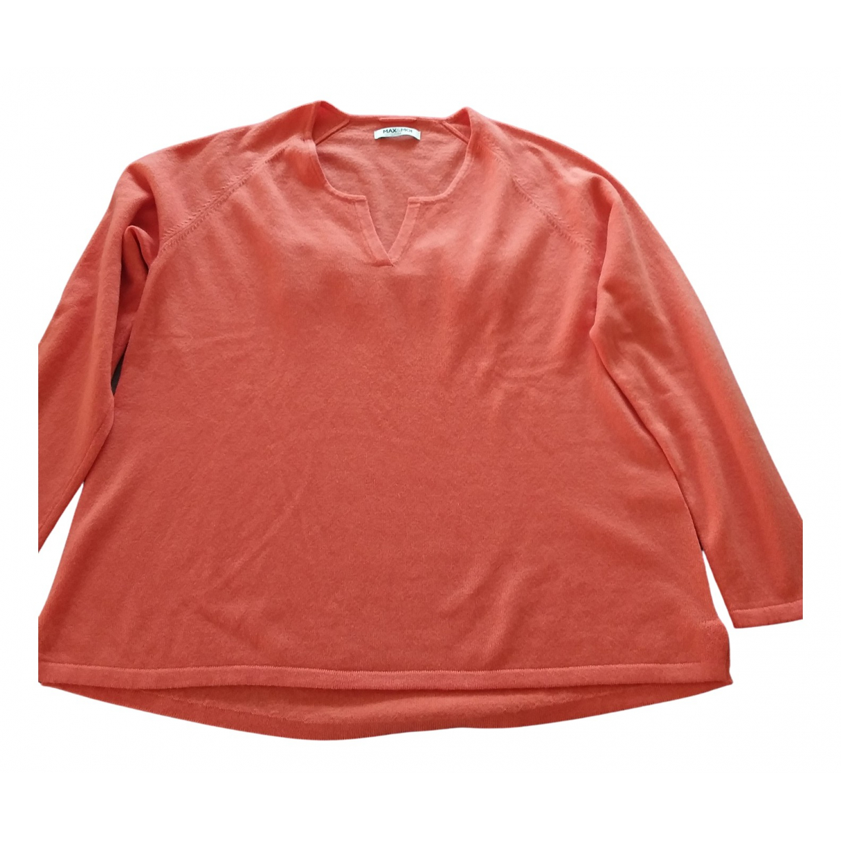 Max & Moi \N Pullover in  Orange Wolle