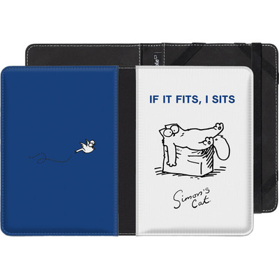 Sony Reader PRS-T2 eBook Reader Huelle - If It Fits, I Sits von Simons Cat