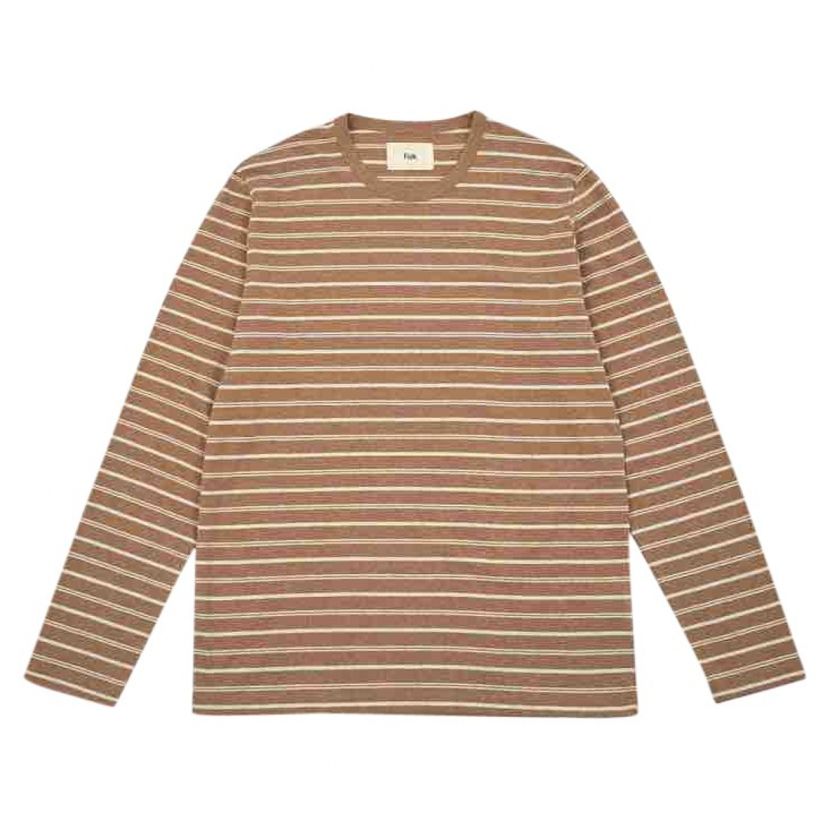 Folk \N T-Shirts in  Beige Baumwolle
