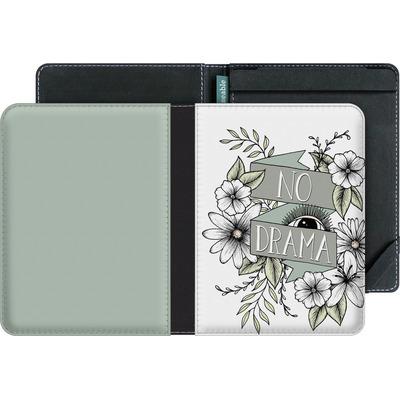 tolino vision 4 HD eBook Reader Huelle - No Drama - Green von Barlena