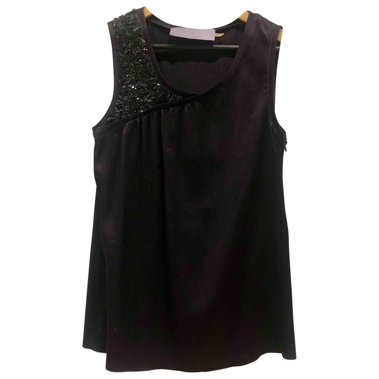 Vera Wang \N Purple Silk  top for Women 6 US