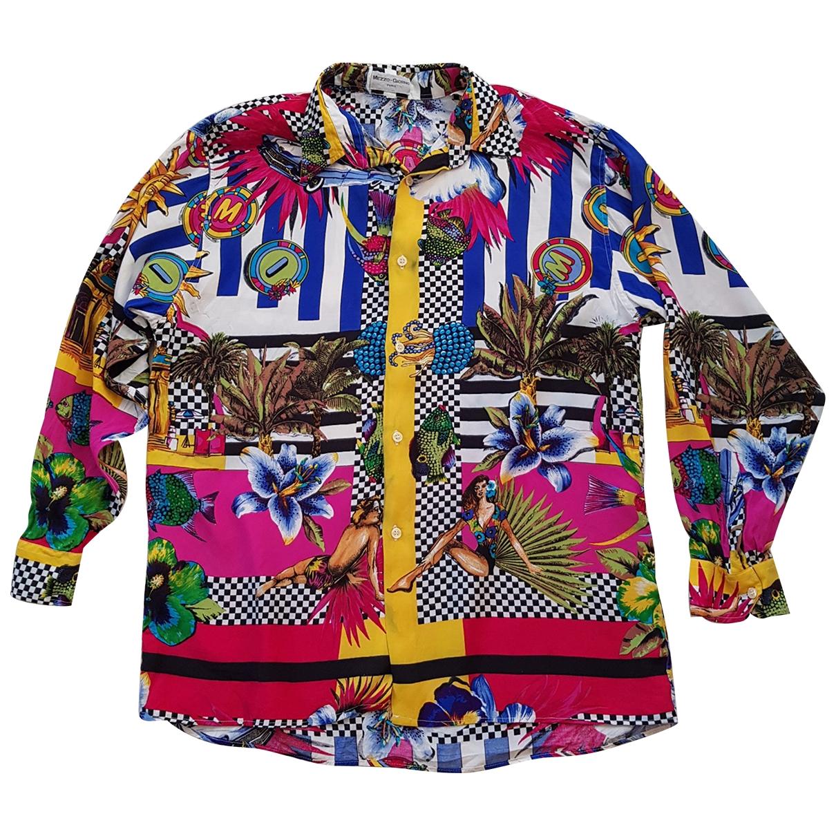Non Signé / Unsigned Hippie Chic Multicolour Shirts for Men XL International