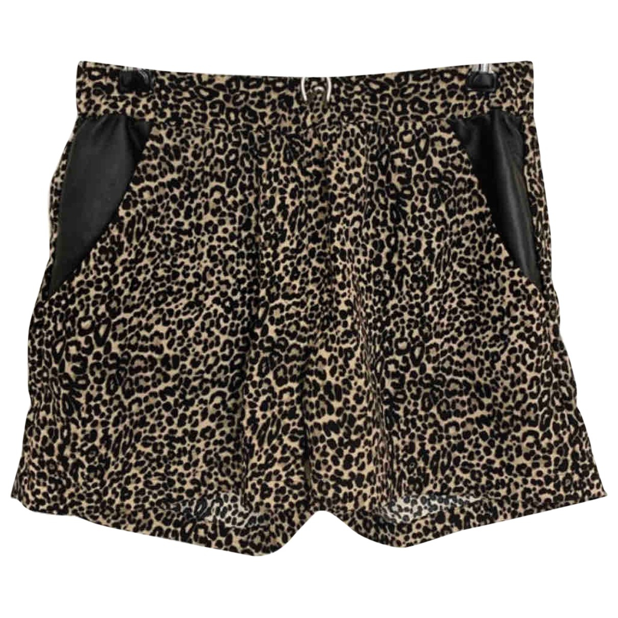 The Kooples N Beige Shorts for Women XS International
