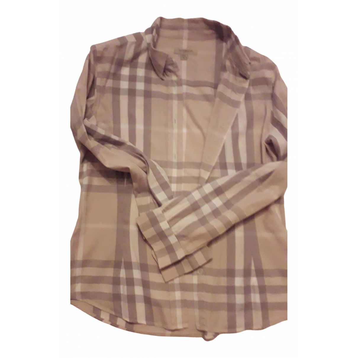 Burberry \N Beige Cotton  top for Women S International