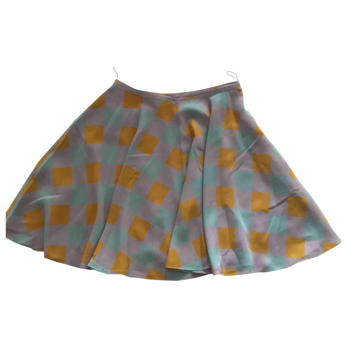 Nina Ricci \N Multicolour Silk skirt for Women 38 FR