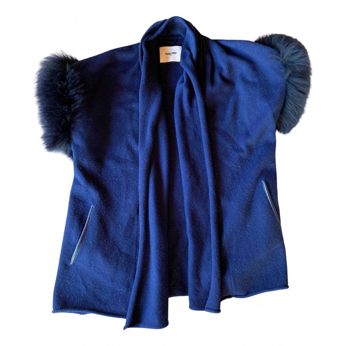 Max & Moi - Pull   pour femme en laine - bleu