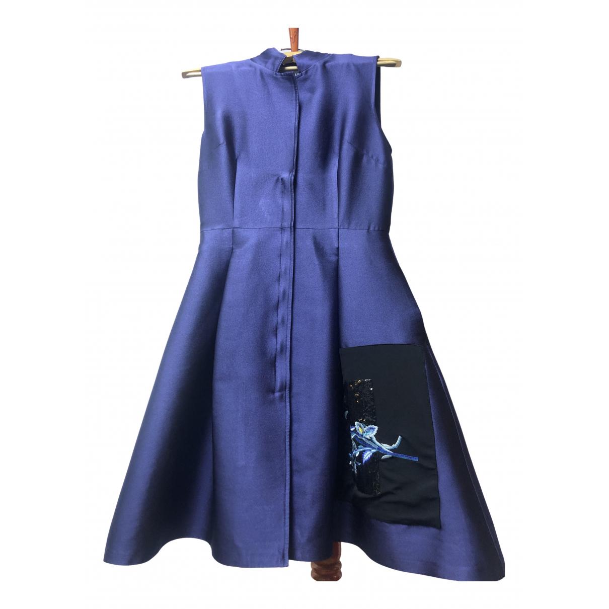 Sachin & Babi - Robe   pour femme en soie - bleu
