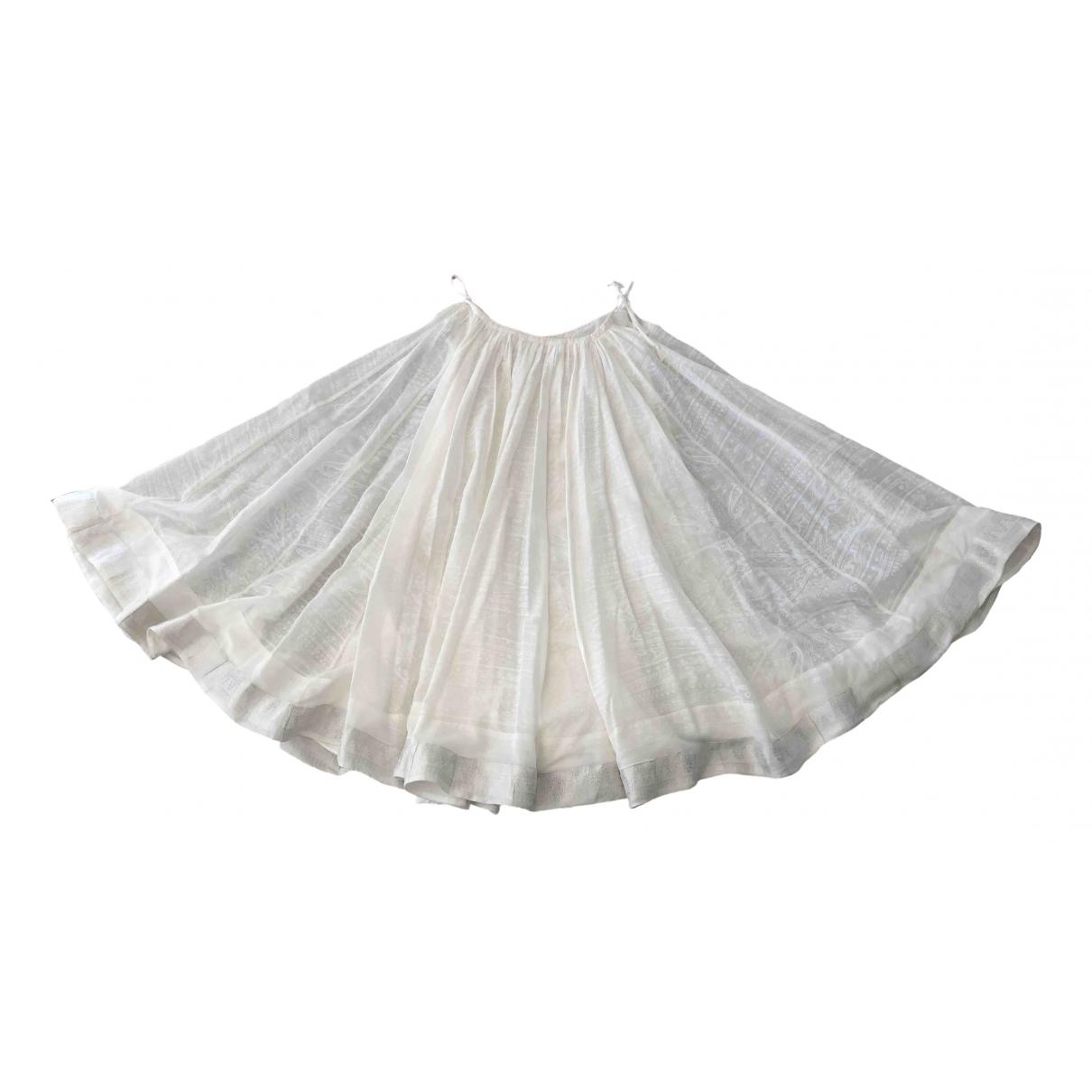 Etro - Jupe   pour femme en coton - blanc