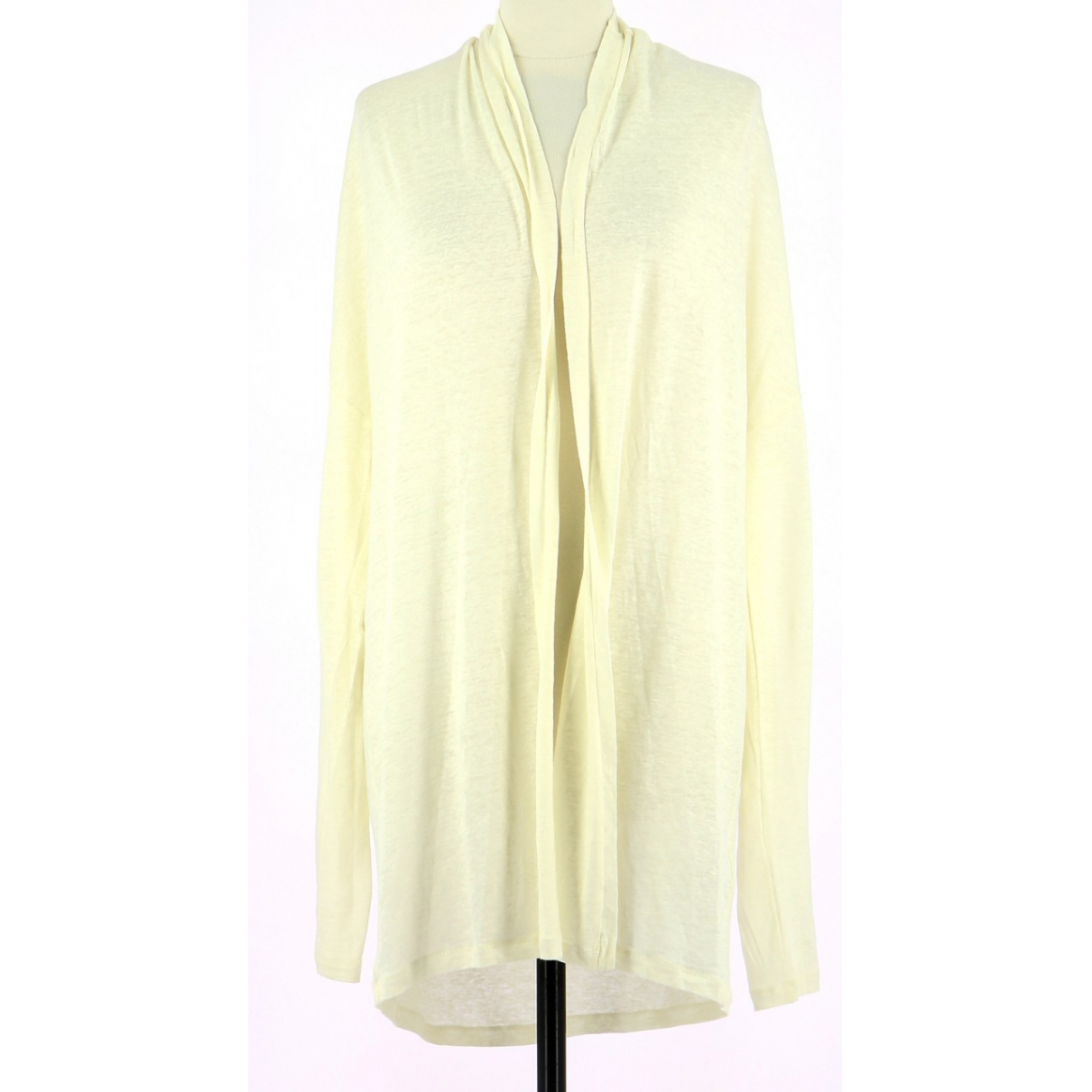 Autre Marque \N White Linen Knitwear & Sweatshirts for Men 42 FR