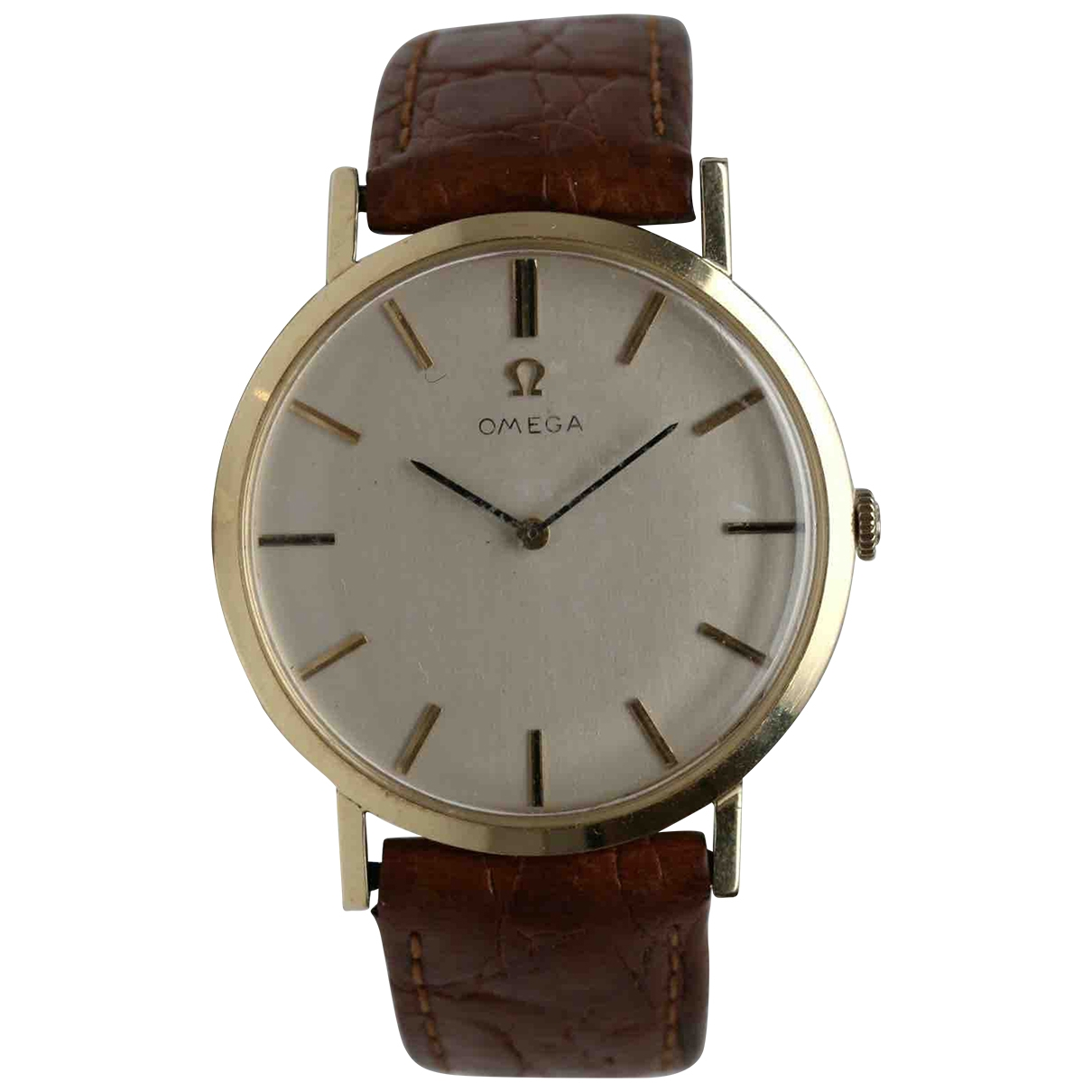 Omega \N Yellow Yellow gold watch for Men \N